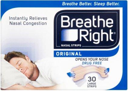 Breathe Right tiras nasales