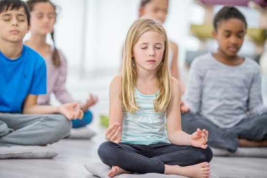 ejercicio de mindfulness para niños